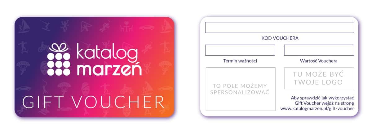 Gift Voucher - karta podarunkowa na prezent dla pracownika