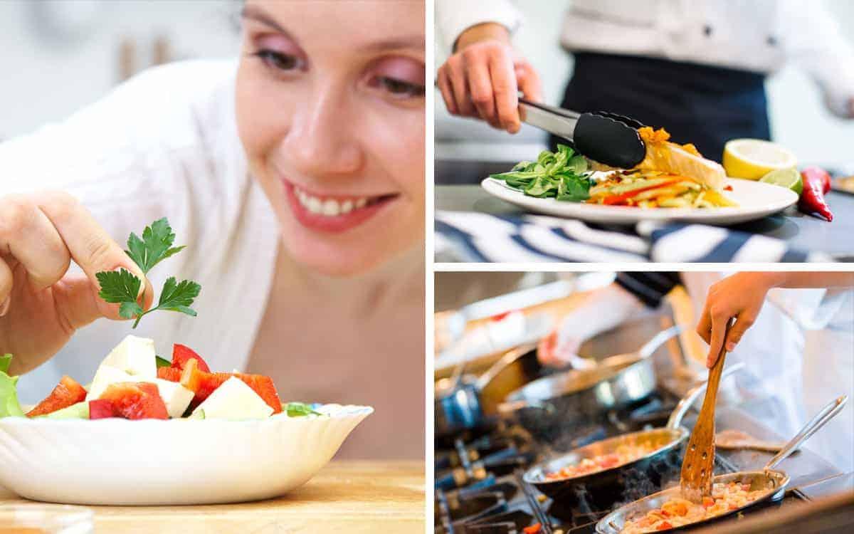 Pracownicy rozwijają swoje umiejętności dzięki kursom gotowania, na które vouchery dostali od pracodawcy