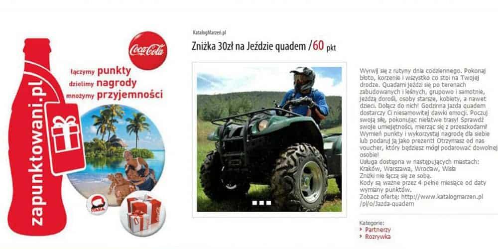 Wspólna akcja Zapunktowani Katalog Marzeń i Coca Cola